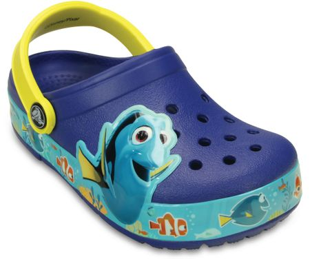Crocs natikači CrocsLights Finding Dory, CerBlu/Lem 25-26 C9
