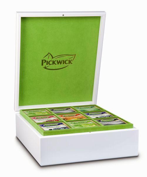 Pickwick Dárková sada v bílé kazetě, 6x16 ks