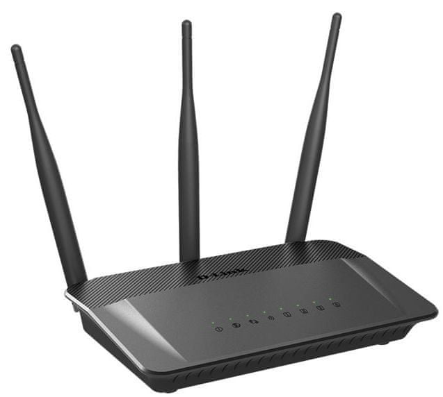 D-Link DIR-809/E WiFi AC750 DualBand 10/100 Router - II. jakost