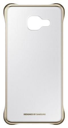 Samsung prozoren ovitek trdi ovoj za Galaxy A3 2016 (A310), zlat (EF-QA310CFEGWW)