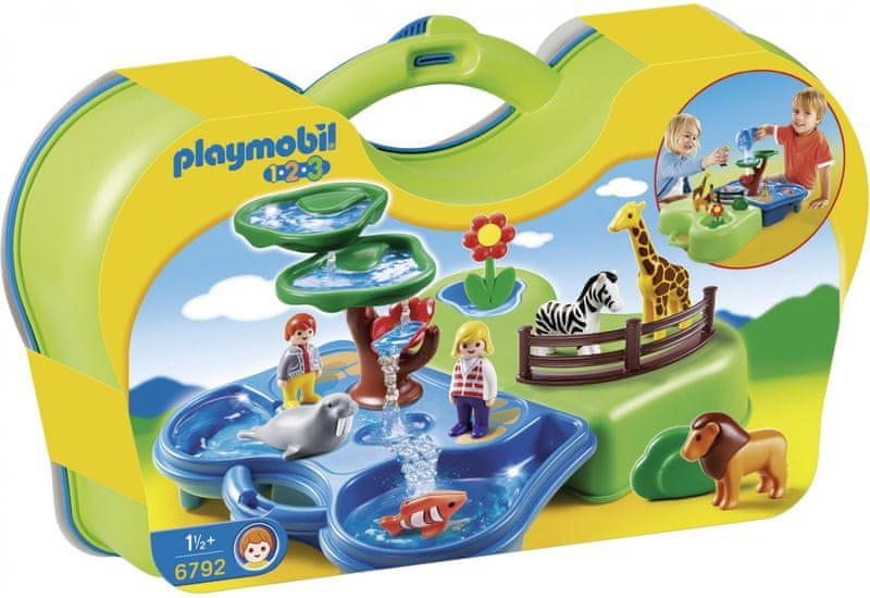 Playmobil 6792 Přenosný vodní koutek v ZOO