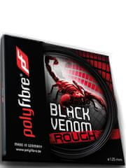Polyfibre tenis struna Black Venom Rough - set