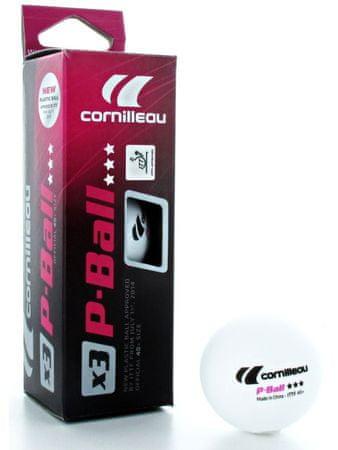 Cornilleau plastične žogice P-Ball ITTF