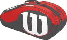 Wilson teniška torba Match II 6 Pack