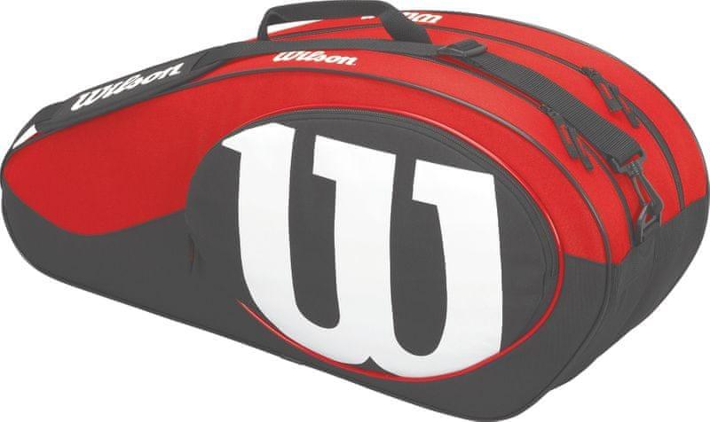 Wilson Match II 6 Pack Bag