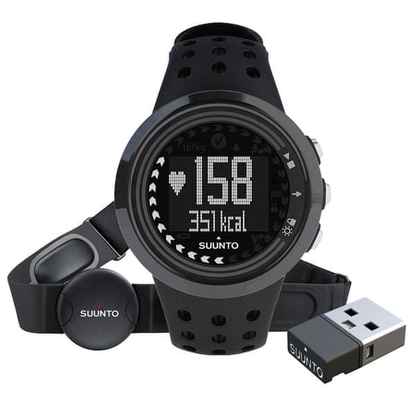 Suunto M5 Men Pack All Black (+ Movestick Mini)