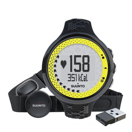 Suunto športna ura M5 Women Pack (+ Movestick Mini), Black/Lime