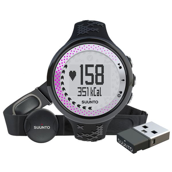 Suunto M5 Women Pack Black/Silver/Pink (+ Movestick Mini)