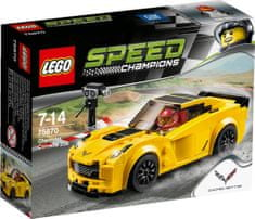 LEGO® Speed Champions 75870 Chevrolet Corvette