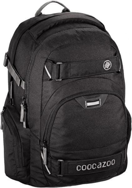 CoocaZoo Školní batoh CarryLarry2, Beautiful Black
