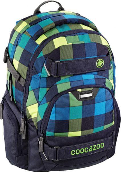 CoocaZoo Školní batoh CarryLarry2, Lime District