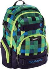 CoocaZoo Školní batoh CarryLarry2, Melange A Trois Navy
