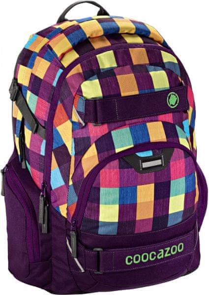 CoocaZoo Školní batoh CarryLarry2, Melange A Trois Pink