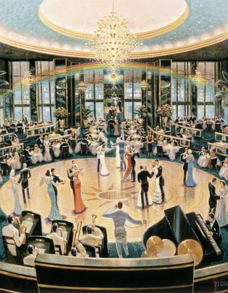 Schmidt Puzzle Taneční sál 1000 dílků