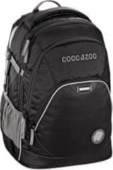 CoocaZoo Školský batoh EvverClevver u2, Beautiful Black