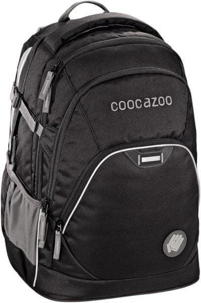 CoocaZoo Školní batoh EvverClevver2, Beautiful Black