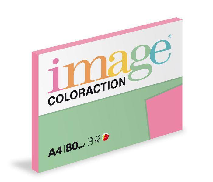 Papír kopírovací Coloraction A4 80 g růžová reflexní 100 listů