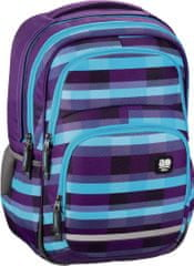 Hama All Out Blaby Iskolatáska, Summer Check Purple