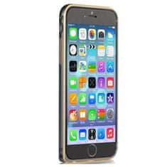 Devia Hliníkový kryt Comma Gun, Apple iPhone 6, černý