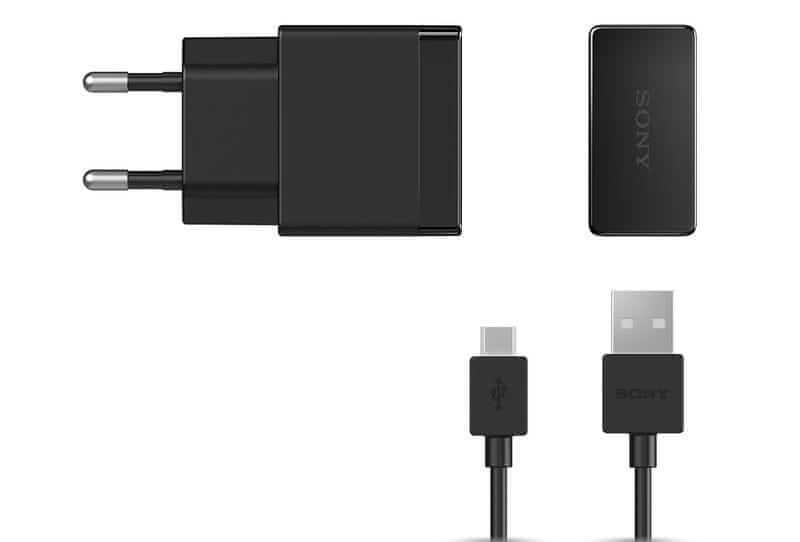 Sony EP881 cestovní nabíječka, microUSB