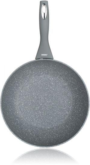 Banquet wok ponev iz teflonskega granita, 28 cm