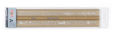 Šablona písmenková KKO ISO 7 mm