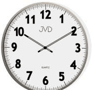 BR stenska ura s premerom 38 cm, belo siva