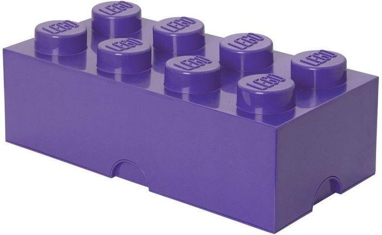 LEGO® Storage box 25x50 cm, fialová