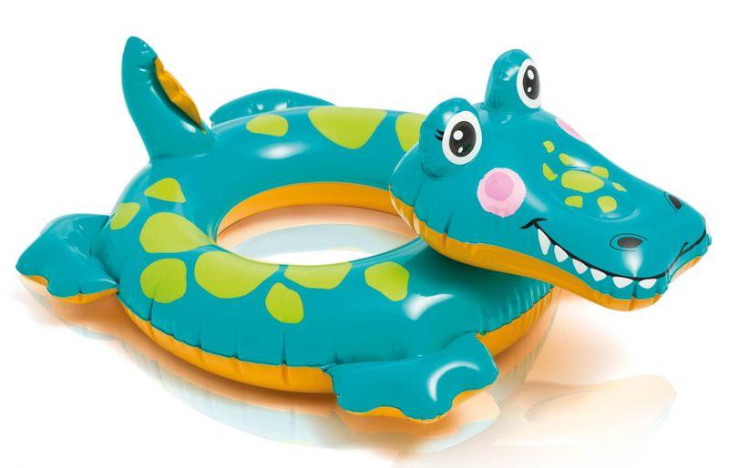 Intex 58221 Plovací kruh Zvířátko krokodýl