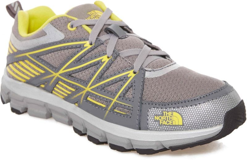 The North Face Jr Endurance Griffin Grey/Blazing Yellow 37