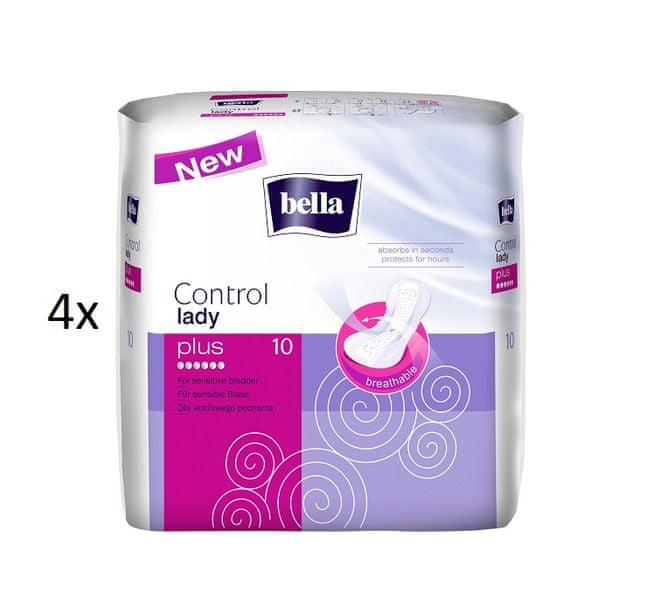 Bella Control Lady Plus 4 x 10 ks
