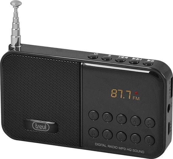 Trevi DR 740 SD BK, černá
