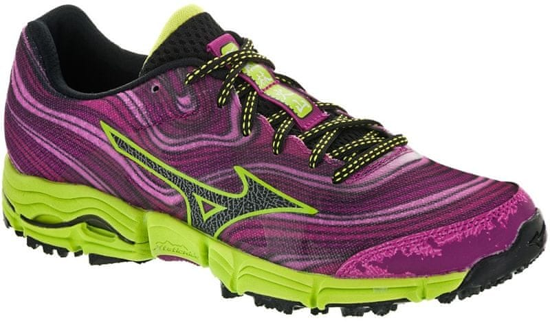 Mizuno Wave Kazan W Veryberry/Black/GreenGlow 4,5 (37,0)
