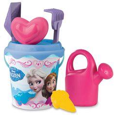 Smoby set za pesek v vedru Disney Frozen