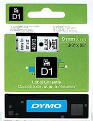 Dymo trak D1 9mm/7m, bel (409130)