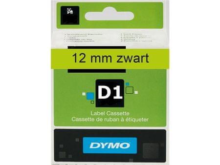 Dymo trak D1 12mm/7m, zelen (450190)