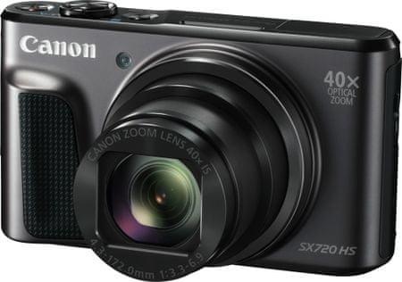 Canon digitalni fotoaparat PowerShot SX720 HS, črn