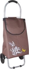 BRILANZ Nákupní taška na kolečkách 87x35x28 cm