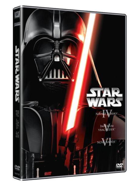 STAR WARS: Původní trilogie, epizody IV, V, VI (3DVD) - DVD