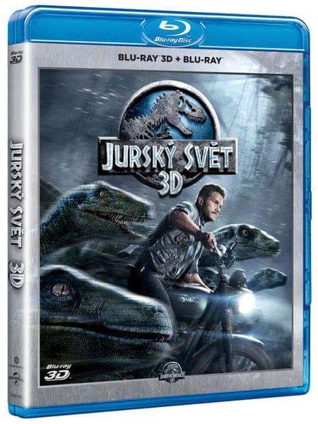 Jurský svět 3D+2D - Blu-Ray