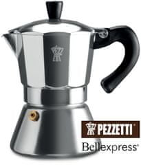Pezzetti Bellexpress kanvica s okienkom, 6 šálok, 300ml