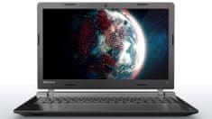 Lenovo prenosnik IdeaPad 100 i3-5005U 4/128 15''HD DOS, črn