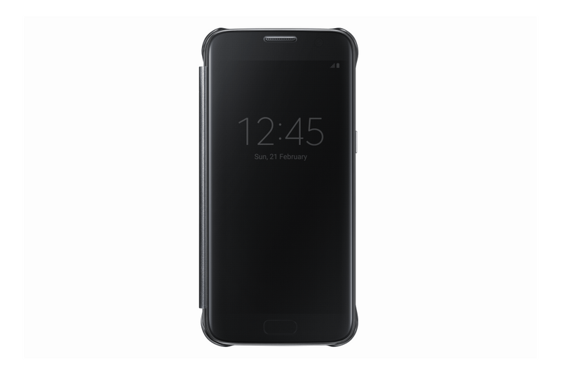 Samsung flipové pouzdro Clear View, Galaxy S7 EDGE, černé
