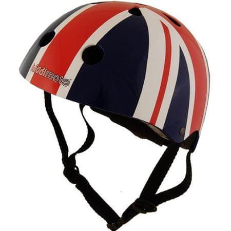 Kiddimoto otroška čelada Union Jack rdeča/modra M
