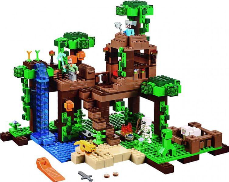 LEGO® Minecraft 21125 Dům na stromě v džungli