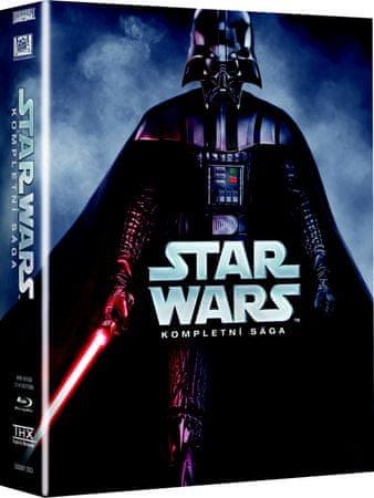 STAR WARS: Kompletní sága, epizody I-VI (9BD)   - Blu-Ray