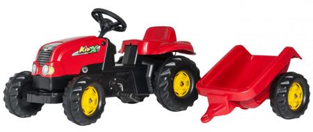 Rolly Toys traktor s prikolico Kid Pedal