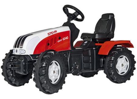 Rolly Toys Šliapací traktor Steyr CVT 170 - červeno-biely