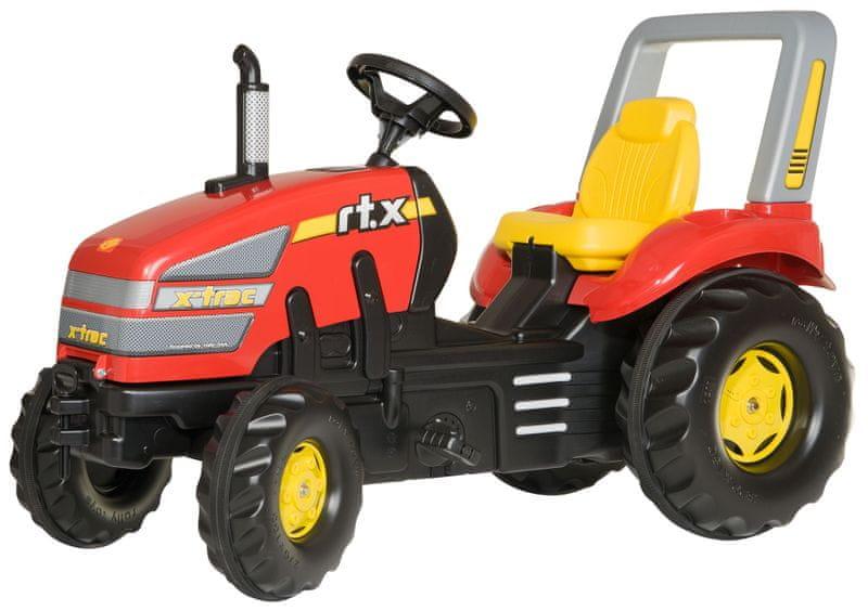 Rolly Toys Šlapací traktor X-Trac - červený