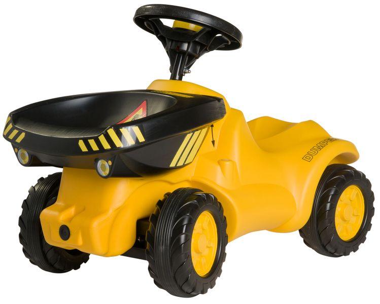 Rolly Toys Odstrkovadlo Dumper traktor žlutý